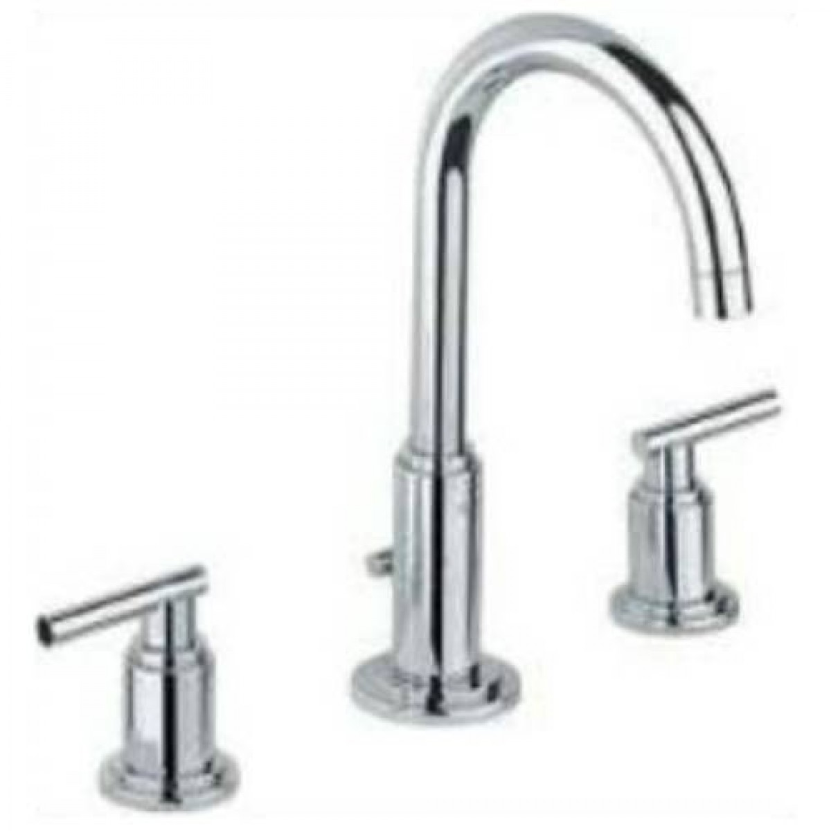 Grohe faucet bathroom -  Grohe 20069 18027 Atrio High Spout Widespread Bathroom Faucet With Lever Handles 49578