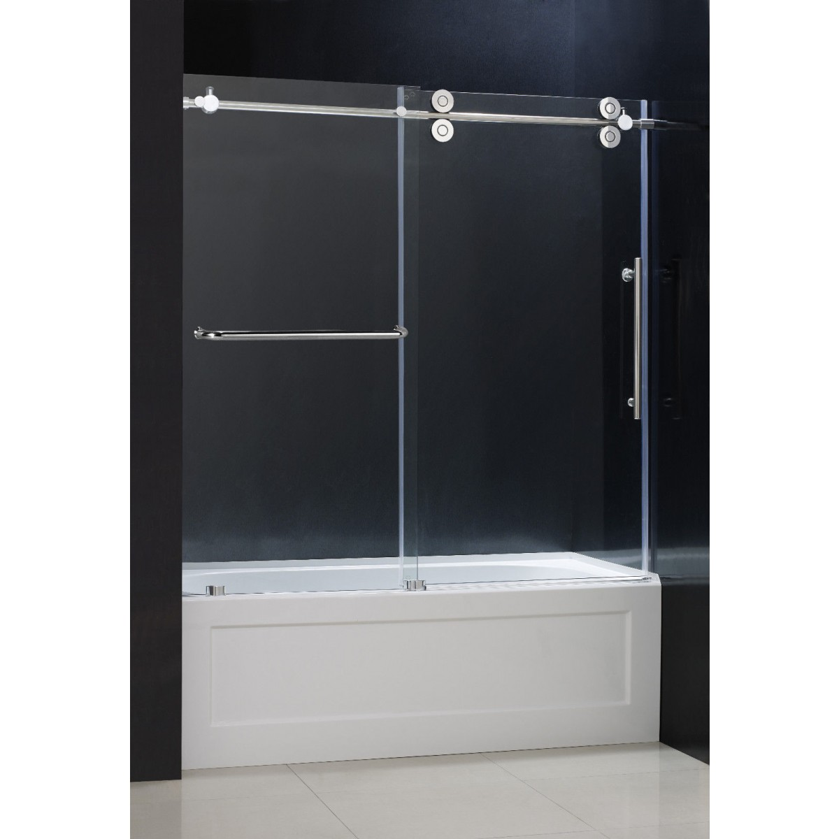 Bathroom tubs with glass doors - More Views