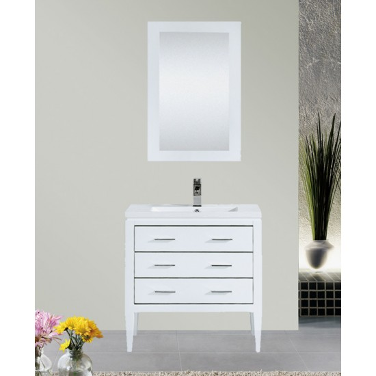 "Dowell 36"" 001 36 01 Single Sink Modern Bathroom Vanity"