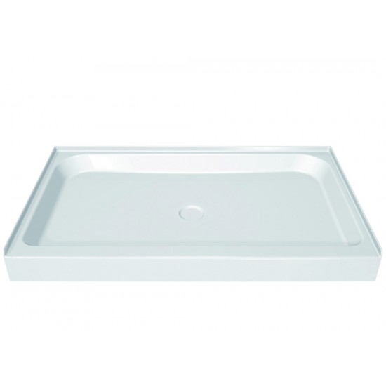 "Maax Rectangular Single threshold 42"" x 34"" x 5"" Acrylic Shower Base"