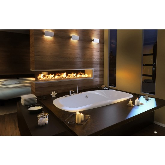 "Maax 72"" x 42"" x 24"" Eterne 7242 Acrylic Soaking Bathtub"