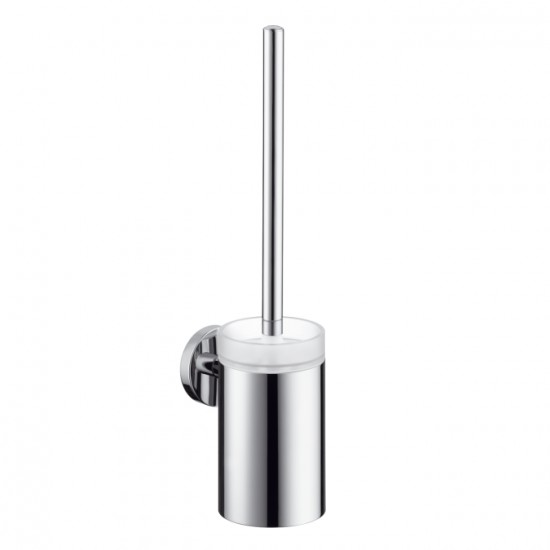 Hansgrohe S/E Toilet Brush with Holder