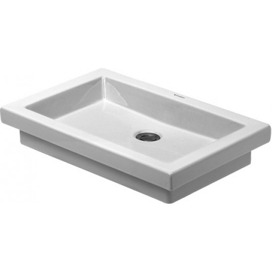 Duravit 031758 2nd Floor 22-7/8 Inch Vanity Washbasin