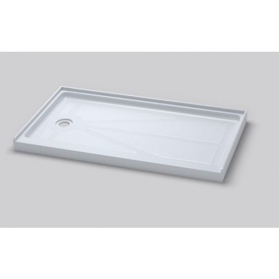 "ART OF BATH 60""x32""x4"" SINGLE THRESHOLD ACRILYC SHOWER BASE DBS6032 RIGHT/LEFT"