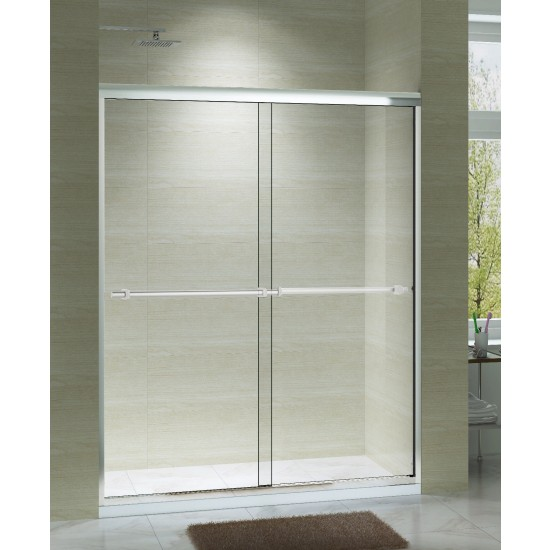 "Art Of Bath Shower Door V6075-FR , Frosted 1/4"" Glass Door"