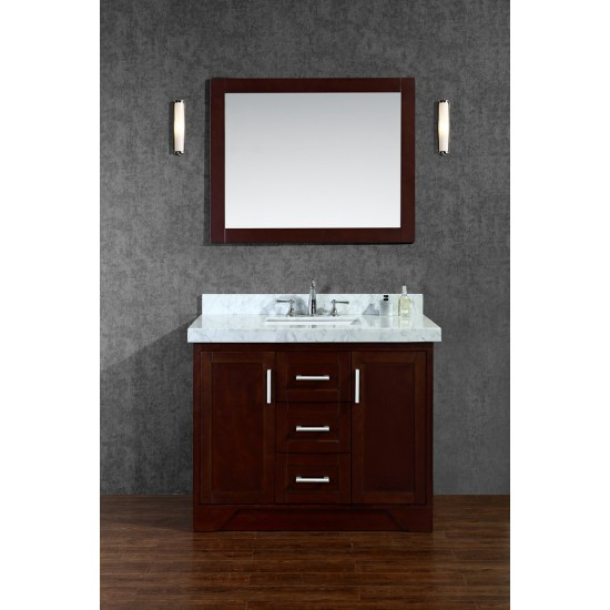 "Ariel by Seacliff Ashbury 42"" Single-Sink Bathroom Vanity Set"