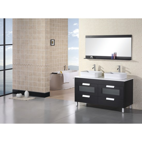 Design Element Francesca Double Sink Vanity Set DEC019