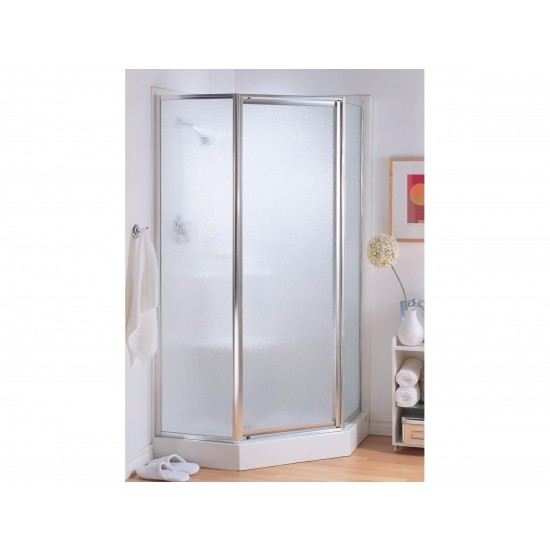 "Fleurco Signature Montreal Neo-angle 38"" x 70"" Pivot Shower door"