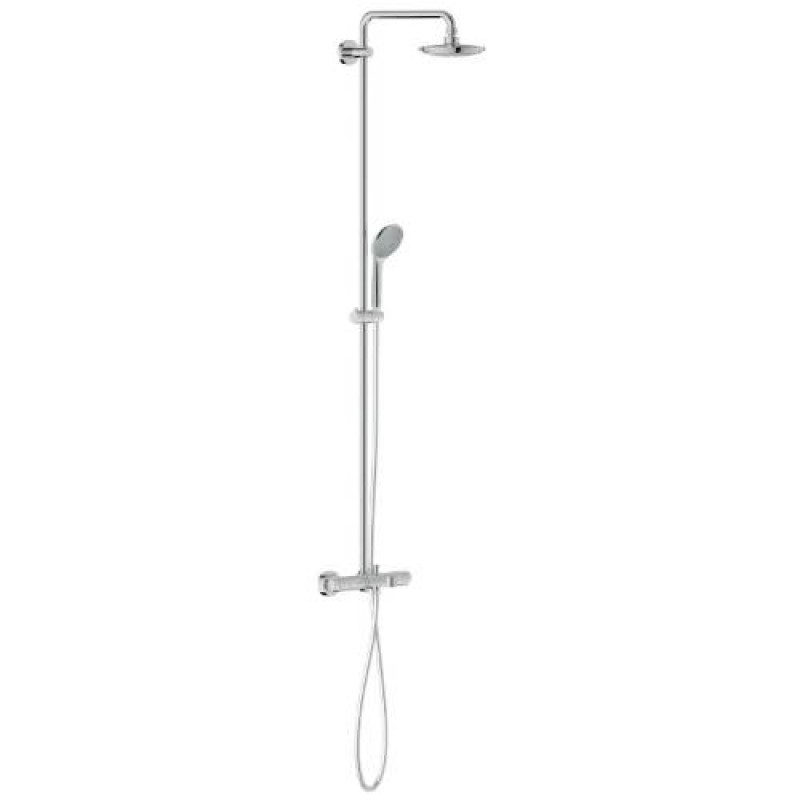 DiscoBath - Grohe 27475000 Euphoria Shower System with Thermostatic ...