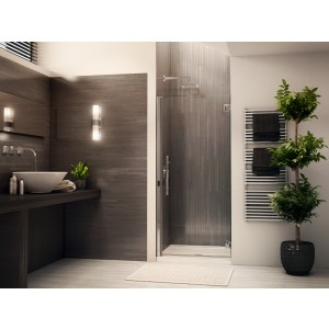 "Fleurco Platinum Kara 32"" to 33"" x 75"" Shower door"