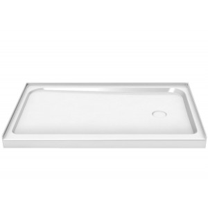 "Maax Rectangular Single threshold 60"" x 32"" x 3"" Acrylic Shower Base"