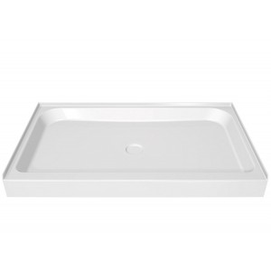 "Maax Rectangular Single threshold 60"" x 36"" x 5"" Acrylic Shower Base"