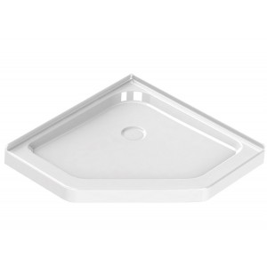 "Maax Neo-Angle Acrylic 40"" x 40"" x 3"" Shower Base"