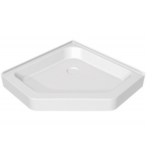 "Maax Neo-Angle Acrylic 38"" x 38"" x 5"" Shower Base"