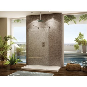 "Fleurco Evolution 6' 32"" x 75"" walk in shower system (Cont'd)"