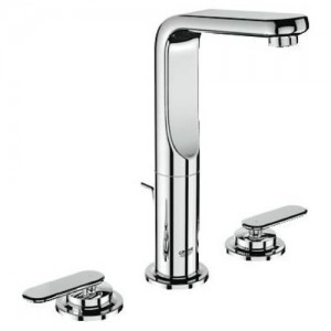 Grohe 20182 Veris Deck Mount Widespread Bathroom Faucet