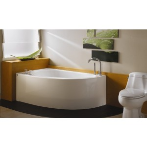 "Neptune Wind 60""x36"" Corner Mass-Air Tub"