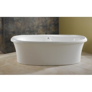 "Neptune Zircon 72""x38"" Freestanding Mass-air Tub"