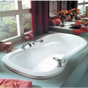 "Neptune Penelope 60""x33"" Mass-Air Tub"