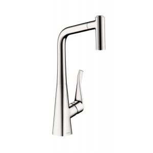 Hansgrohe Metris 2-Spray Prep Kitchen Faucet (Pull-Out)