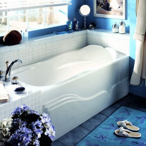 "Neptune Daphne 60""x32"" Whirlpool Tub With Integrated Skirt"