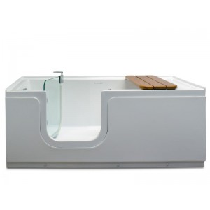 Steam Planet Aquarite Step-In Easy Access Walk-in Tub