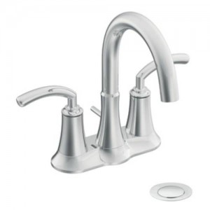 Moen S6510 Icon Double Handle Centerset Bathroom Faucet