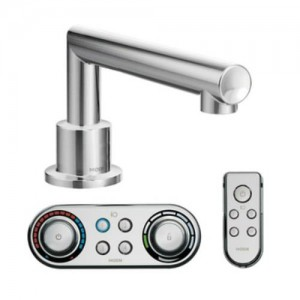 Moen TS92003 Arris Deck Mounted Roman Tub Faucet with ioDIGITAL Technology