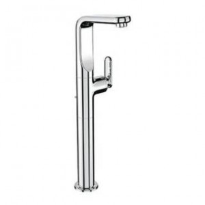 Grohe 32192000 Veris, Deck Mount Vessel Faucet in Starlight Chrome