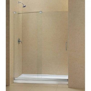 "Dreamline DL-6444L Mirage 36"" x 60"" Left Drain Single Threshold Base Shower Package"