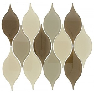 "Windchime srs. WCS03 Wood Chime Mosaic 15"" X 12"" 5 pcs. Per Box"