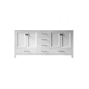 Virtu USA GD-50072-CAB-WH Caroline Avenue Bathroom Vanity Cabinet White Finish