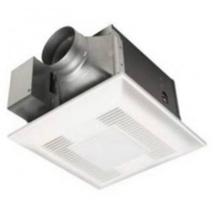 Panasonic FV-08VKSL4 WhisperGreen-Lite 80 CFM Ventilation Fan with Light