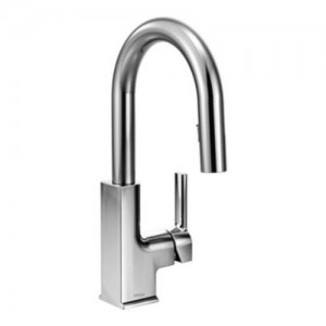 Moen S62308 Sto Single Handle Bar Faucet in Chrome
