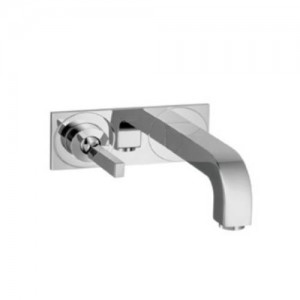 Hansgrohe 39115 Axor Citterio Wall Mounted Single Handle Lav Set with Base Plate - 39115