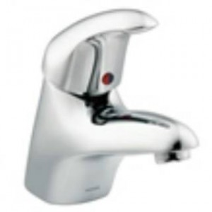 "Moen 8417 Commercial 16""L Chrome 1 Handle Bathroom Faucet"