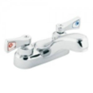Moen 8211 Commercial Chrome 2 Handle Bathroom Faucet