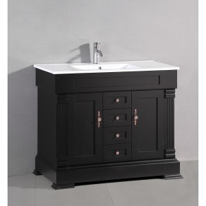 "40"" Bosconi A-5124A Classic Single Vanity"