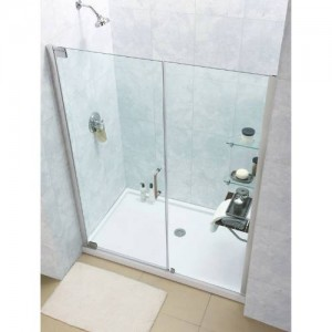 "Dreamline SHDR-4139720 Elegance 39"" - 41"" Frameless Pivot Shower Door"