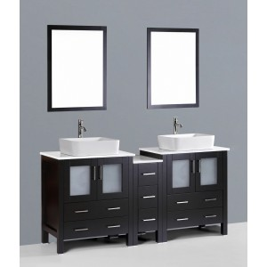 "72"" Bosconi AB230RC1S Double Vanity"