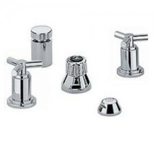 Grohe 24016-18026 Atrio Bidet Wideset with Trio Spoke Handles
