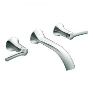 Moen TS41706 Fina Wall Mount Bathroom Faucet