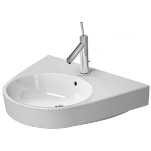 Duravit 232365 Starck 2 25-5/8 x 19-7/8 Inch Wall Mounted Bathroom Sink with Overflow