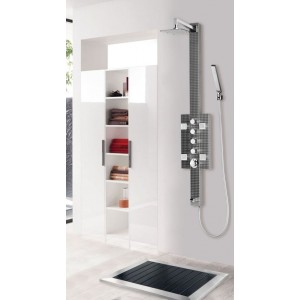 ART OF BATH SHOWER MASSAGE PANEL STAINLESS DB-8002A