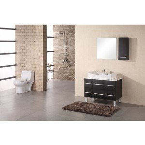 "Design Element Paris 36"" Single Vessel Sink Vanity Set DEC012A"