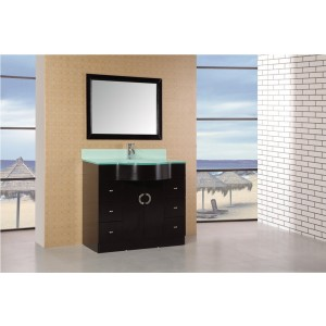 "Design Element Aria 40"" Single Sink Vanity Set DEC061"