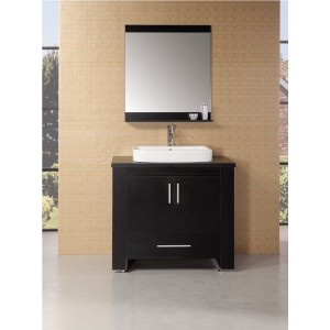 "Design Element Washington 36"" Single Sink Vanity Set DEC083A"
