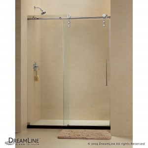 "Dreamline SHDR-6260760 Enigma-Z 56"" - 60"" Frameless Sliding Shower Door"