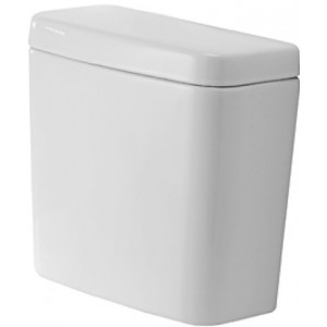Duravit 0927200002 D-Code 15-3/8 x 6-3/4 Inch Cistern for 011701 Toilet Bowl