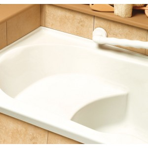 "Neptune Laura 60""x30"" Mass-air/Whirlpool Combo Tub (without Skirt)"